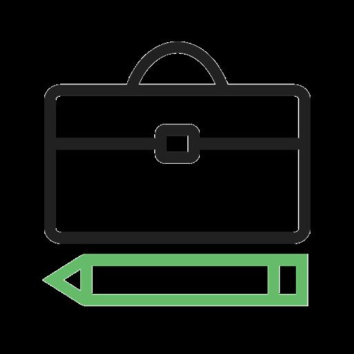 6023 Briefcase and Pen - دوره های آیلتس